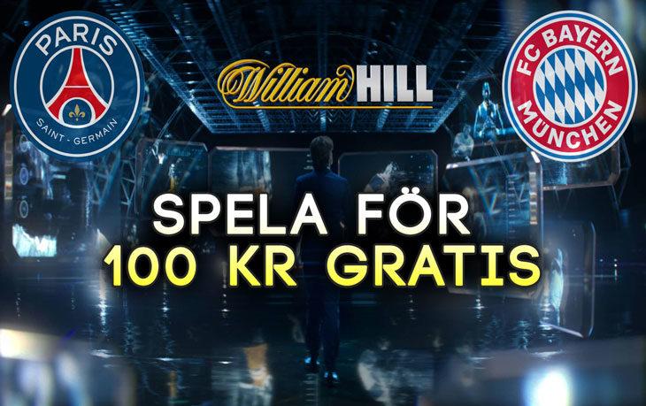 William-Hill-Riskfritt-Champions-League-PSG-Bayern