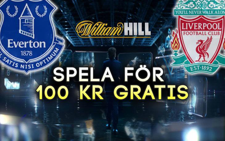 William-Hill-Riskfritt-Everton-Liverpool-100kr