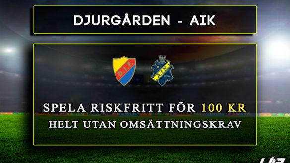 Betfair-Spelbörs-Djurgården-AIK-100kr