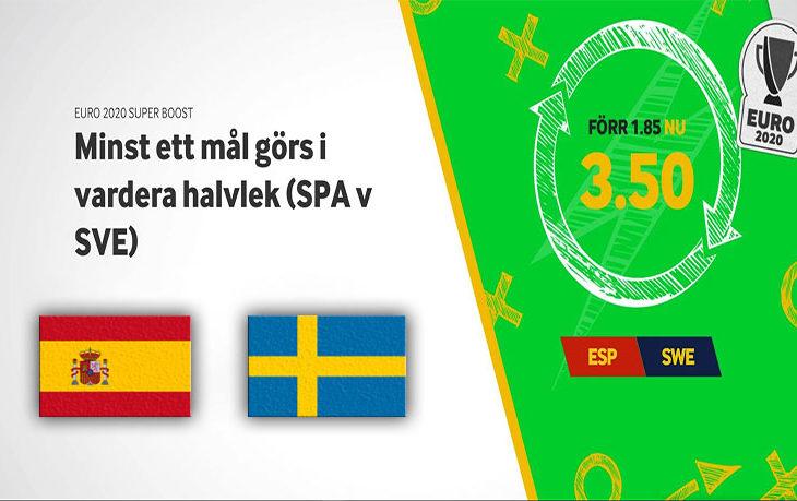 Spanien-Sverige-Oddsboost-Betway-EURO-2020